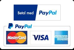 Sikker betaling med Paypal